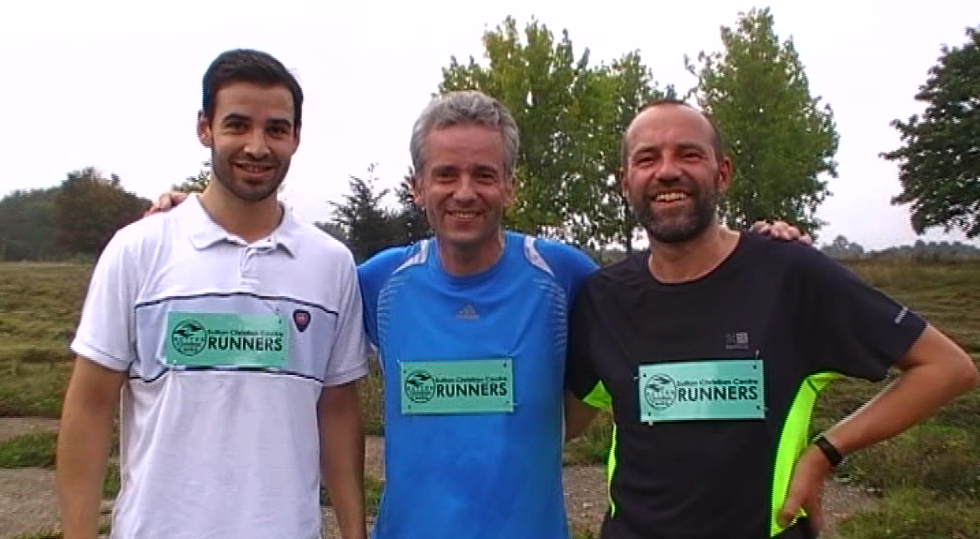 Sutton Christian Centre Runners – two thirds brand newparkrunners!
