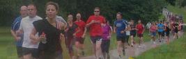 Spot the GS runner!