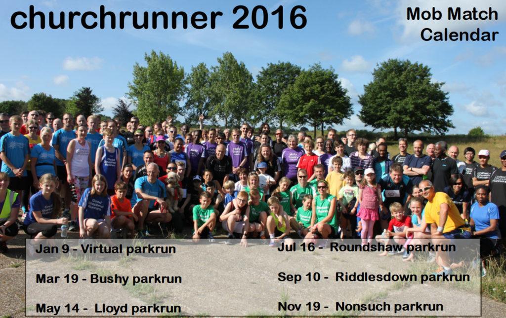 churchrunner Calendar 2016